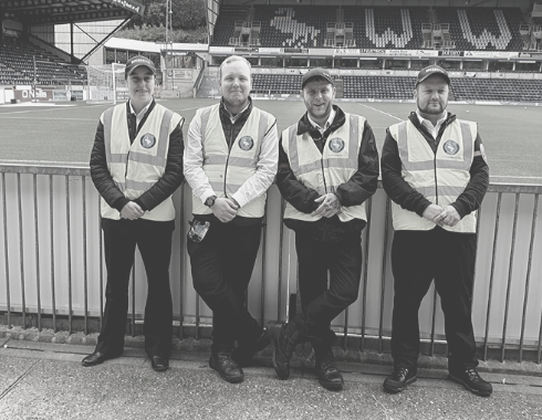 secure pro wycombe wanderers stewarding team