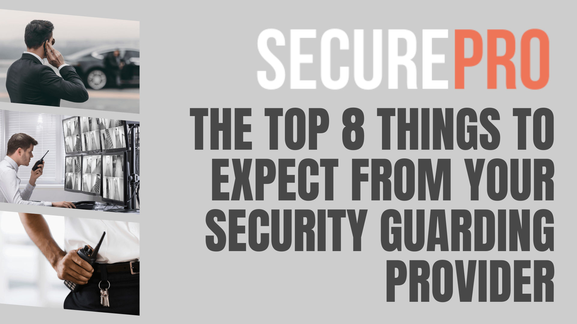 Security Services in Birmingham and the West Midlands